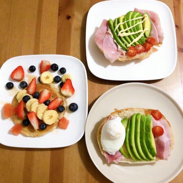 美好的黑五由写意的早餐开始啦