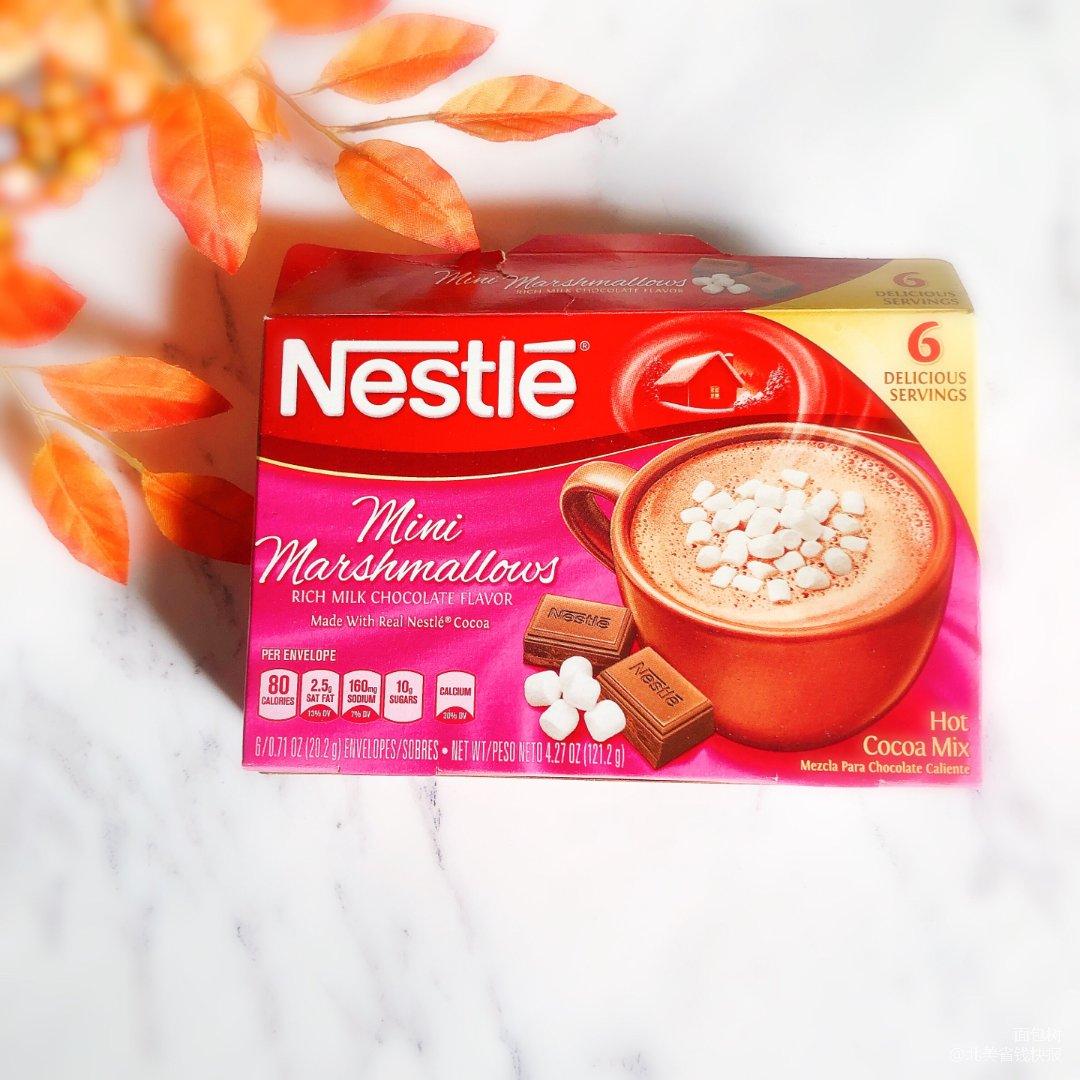 早上来杯棉花糖巧克力热饮,开启一天...