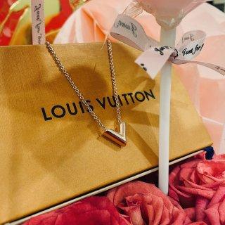 Essential V Necklace - Accessories   LOUIS VUITTON
