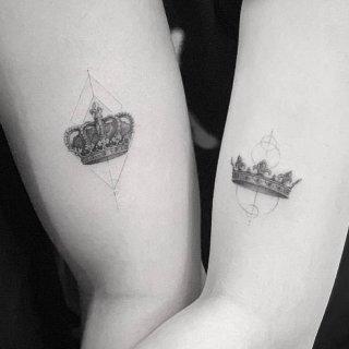 【纹身】又多了个纹身了!情侣纹身创意看这...