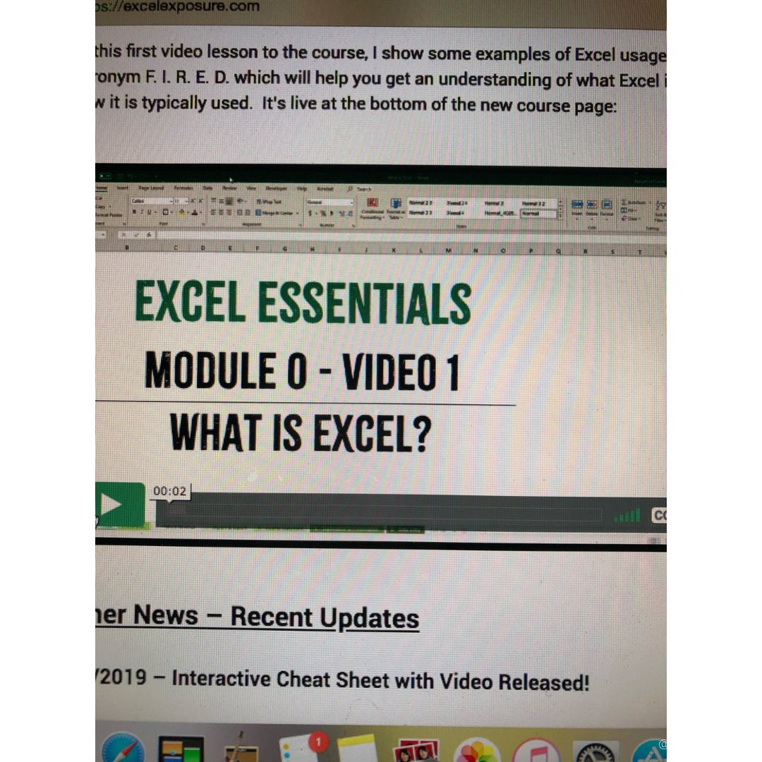 Excel 必学