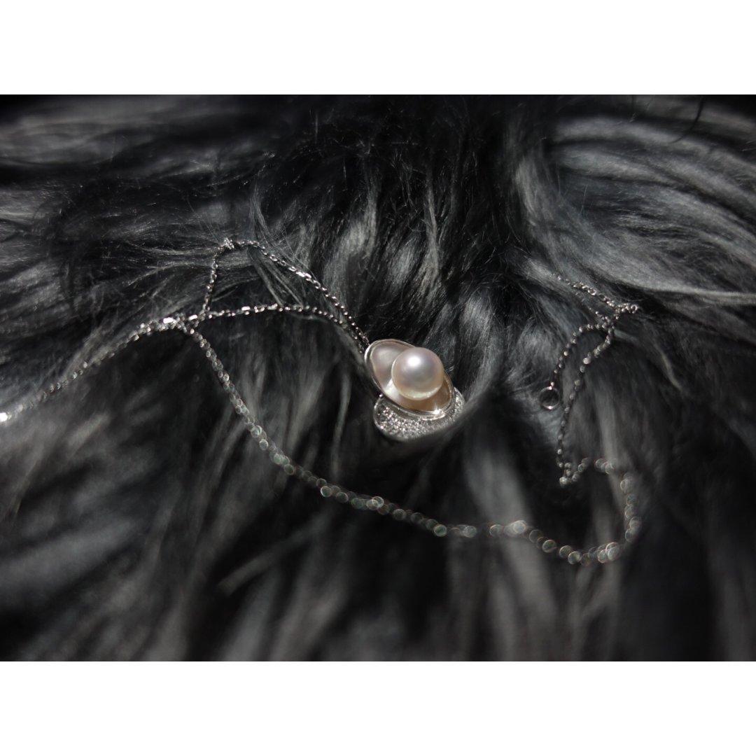 🎋七夕凑个热闹🎋一条美丽的珍珠项链