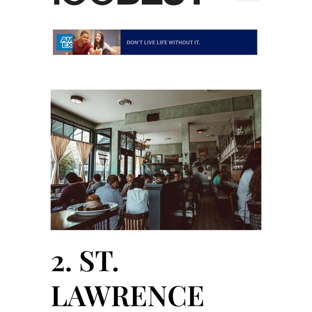 加拿大排名第2:法餐St. Law...