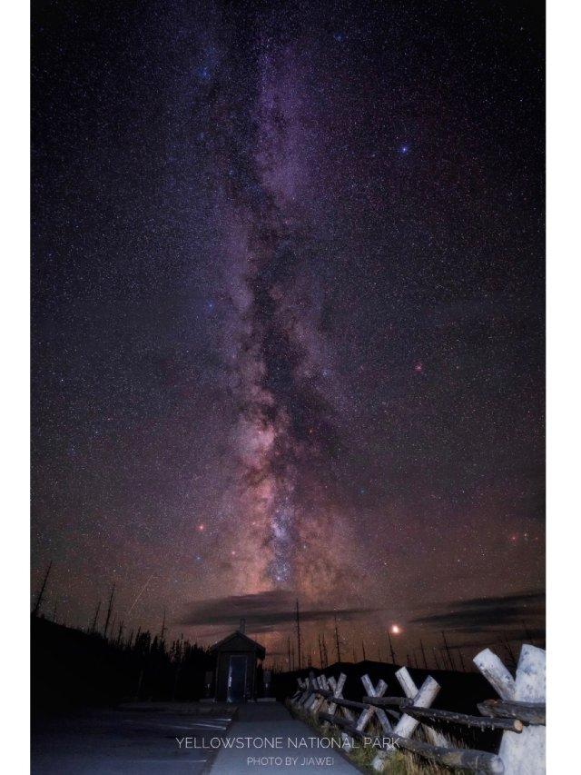 🏔干货🏔黄石大提顿夏季银河龟速更新中