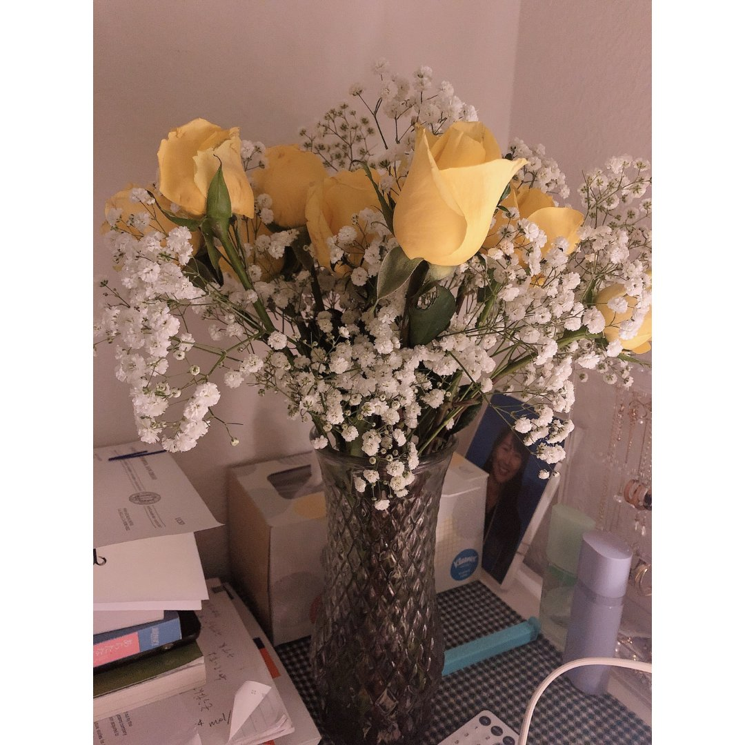 每天都要有花