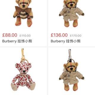 包包配饰 | Burberry小熊 x ...