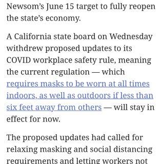 资讯情报官|6月15号加州全面开放‼️‼...