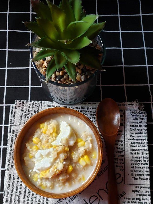 一日三餐吃什么之---玉米燕麦粥