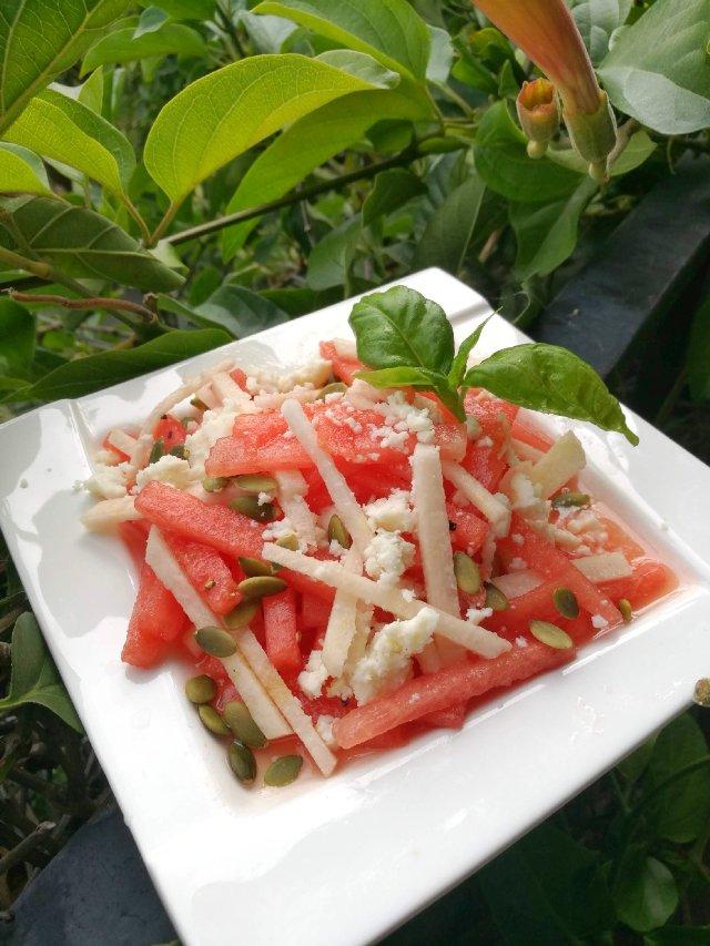 西瓜入菜也美味