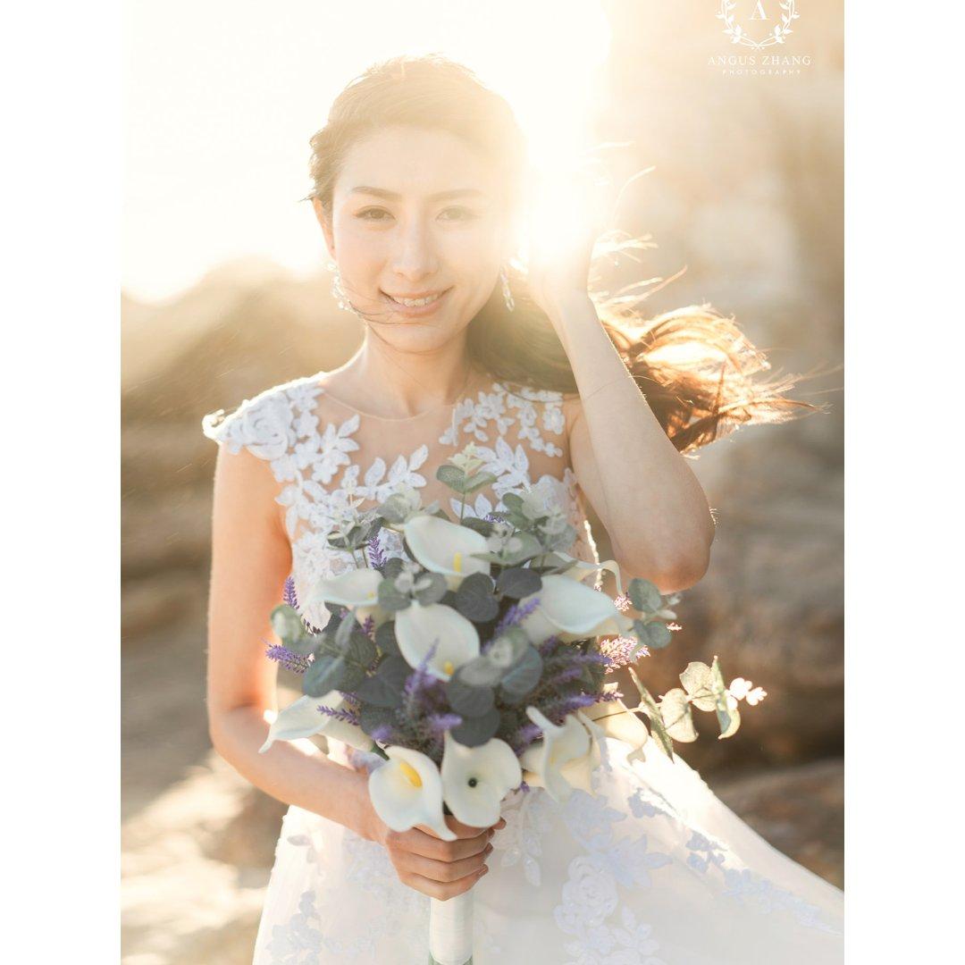如何拍出小清新的婚纱照