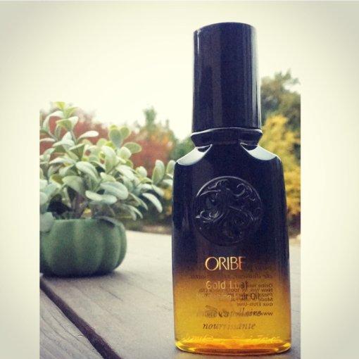 涂在头发上的黄金:Oribe黄金护发油