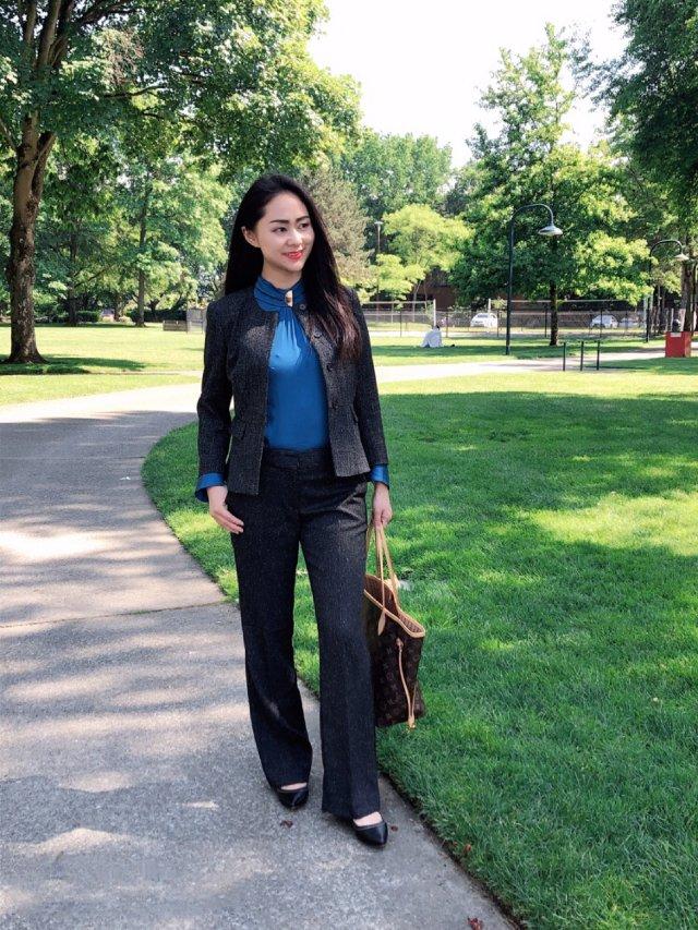 职场穿搭 | 深色西装与亮色衬衣