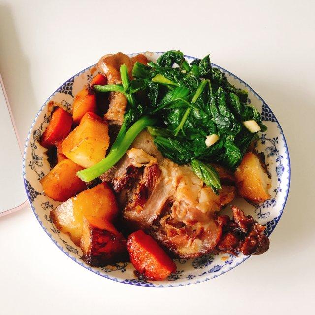 料理秘诀|分享一餐红烧鸭腿🥘🍗