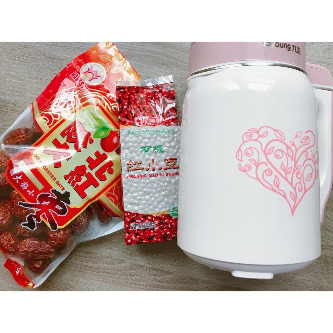 贝贝小厨·红色系豆浆