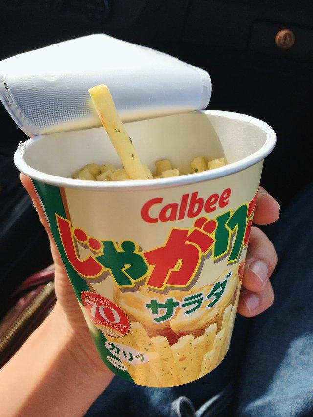 零食推薦|Calbee Jagar...