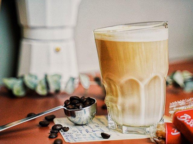 下午茶☕️海盐芝士拿铁