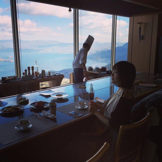 日本北海道最美湖景餐厅 超五星级的享受