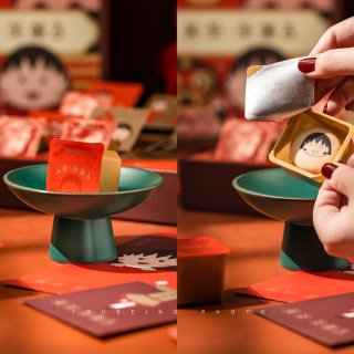 买到就是幸运!关茶樱桃小丸子联名新年甜品...