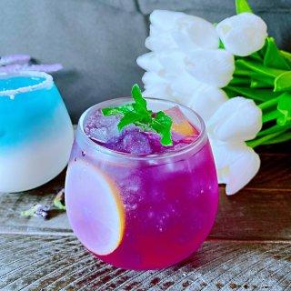 ❄️富士山初雪与紫色的初夏☔️...