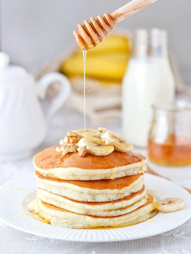 周末早餐丨懒人版香蕉🍌pancake