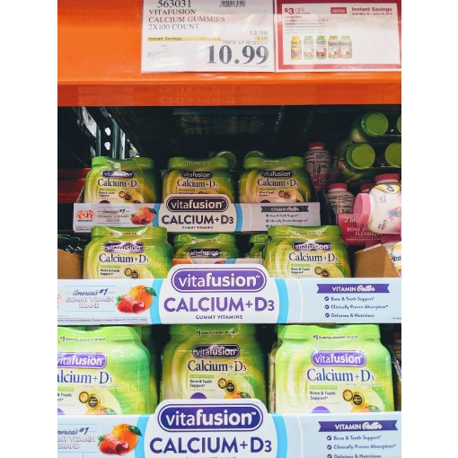 #Costco扫货| 送给长辈的关节、补钙保健食品