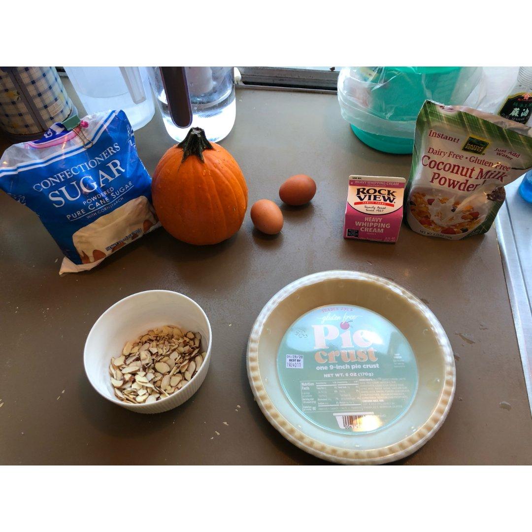 感恩节做个秒速南瓜pie