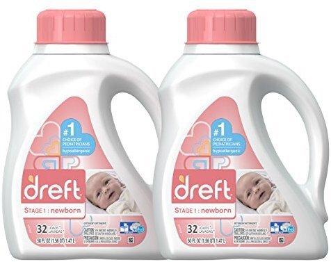 第一阶段新生儿洗衣液 50盎司 2瓶