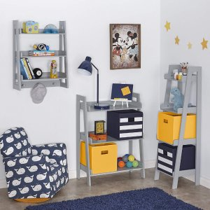 $5 RiverRidge Kids 02 061 2Piece Folding Storage Bin, Golden Yellow @ Amazon