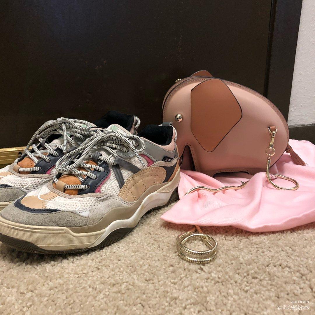 👟鞋子包包一个色👜打卡3⃣️