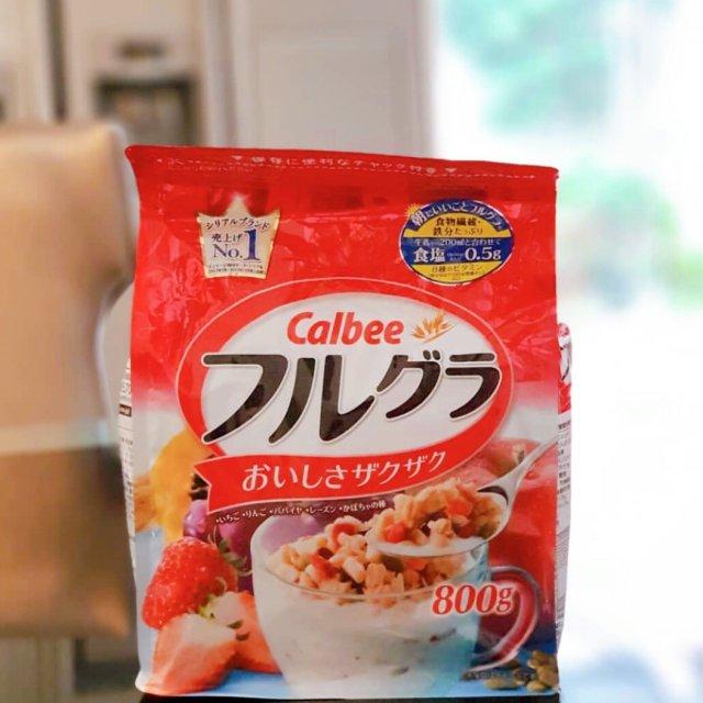 日本卡乐比Calbee水果营养美味麦片