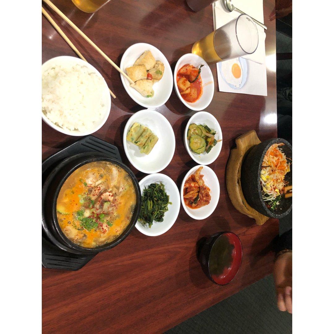 新发现的一家韩国料理😋