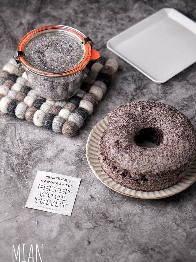 超朴实超香甜的自制黑米糕🍰附自制黑...