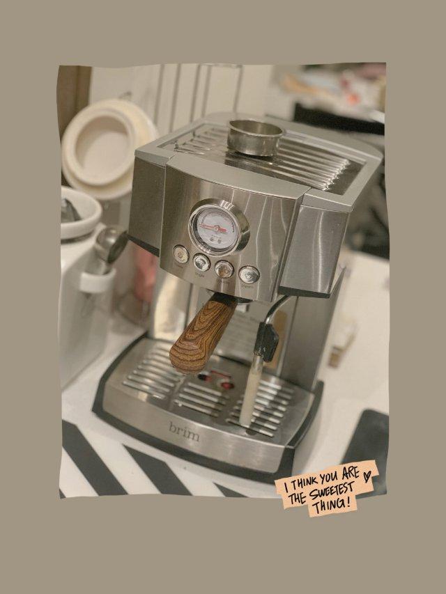 自己做咖啡,是一件仪式感的事情💕