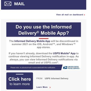 Informed Delivery ap...
