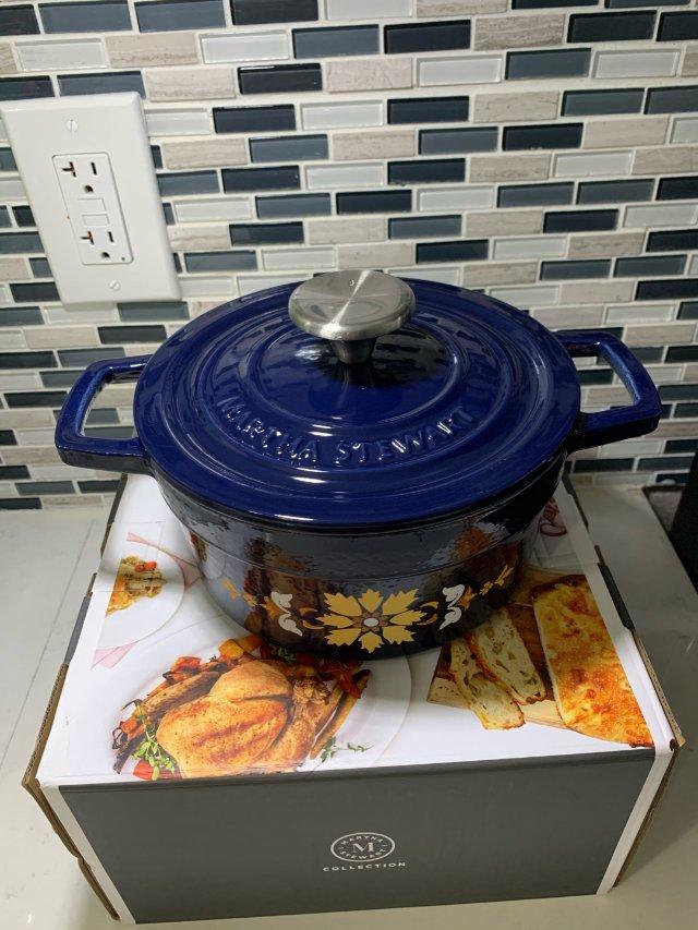 价格平民也有超高颜值的铸铁锅