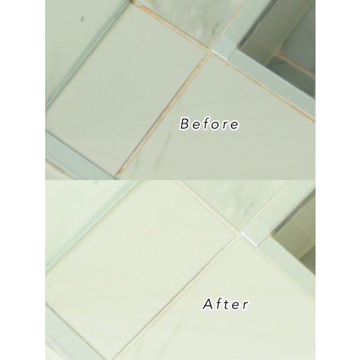 家居分享 - 浴室墙砖边缘的霉菌如何消除?