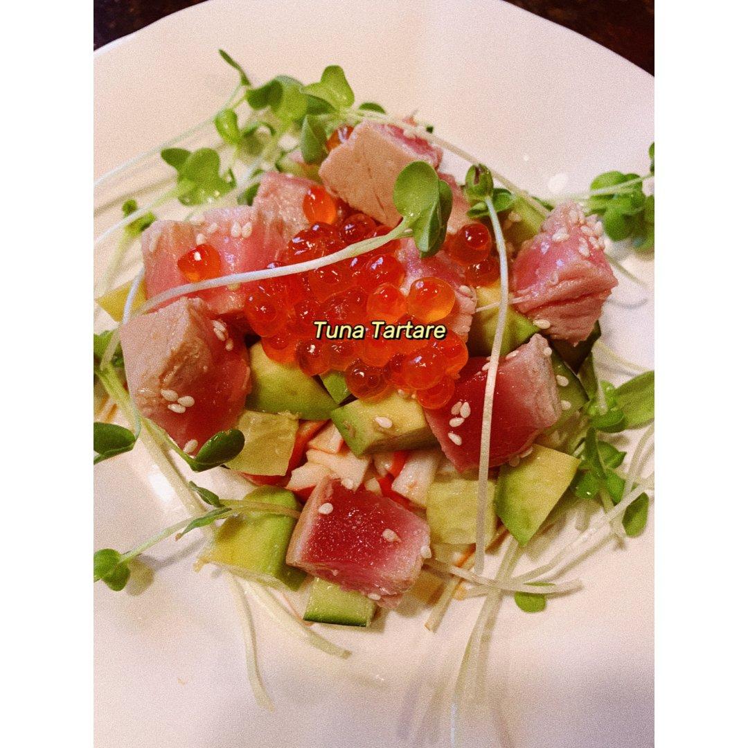 如何做Tuna Tartare