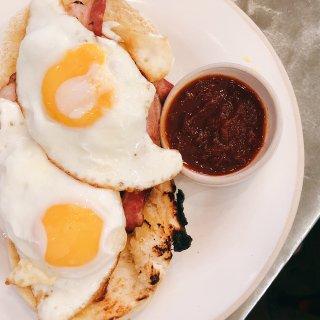 伦敦美食 soho区的早餐...