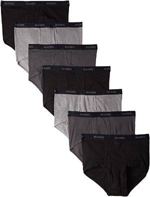 $13.61(原价$24.72)Hanes Ultimate 7件装男士内裤热卖