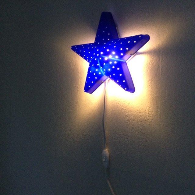 宜家入的星星灯,应该很多小朋友房间...
