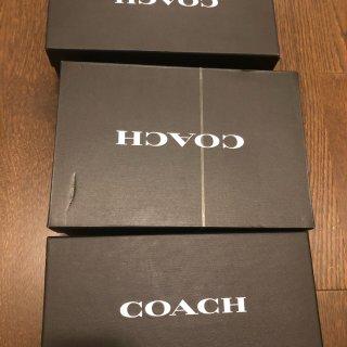 最近入的三双Coach鞋...