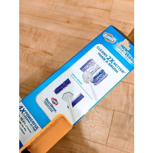 #厕所清洁神器-Clorox抛弃式马桶清洁刷