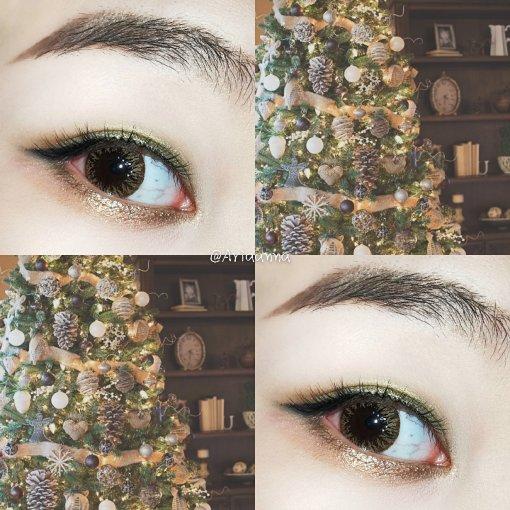 🎄圣诞树灵感眼妆
