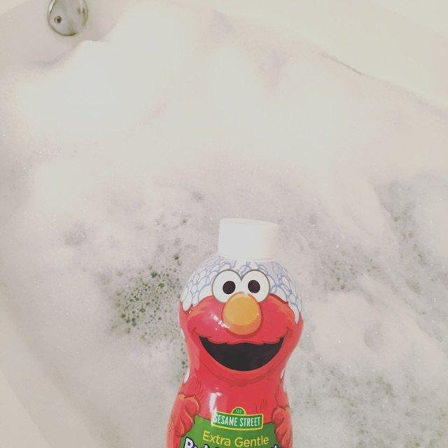 儿童区买的泡泡浴 <br /> 超...