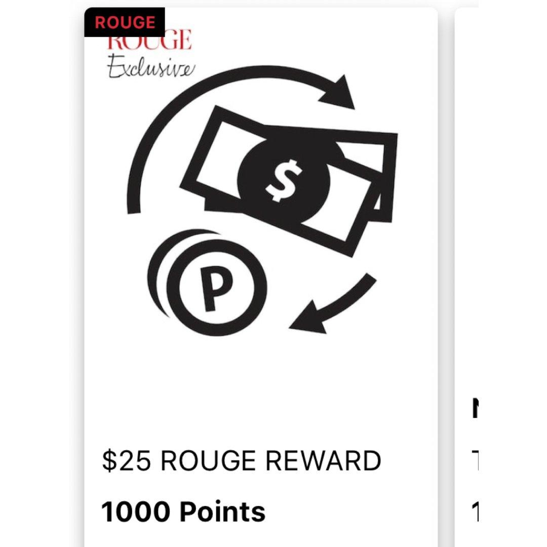 丝芙兰又悄悄的出了1000积分兑换$25