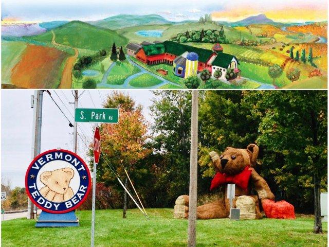 Vermont旅游 | 泰迪熊工厂...