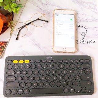 罗技K380便携式键盘 |  你也能轻松成为码文达人😉