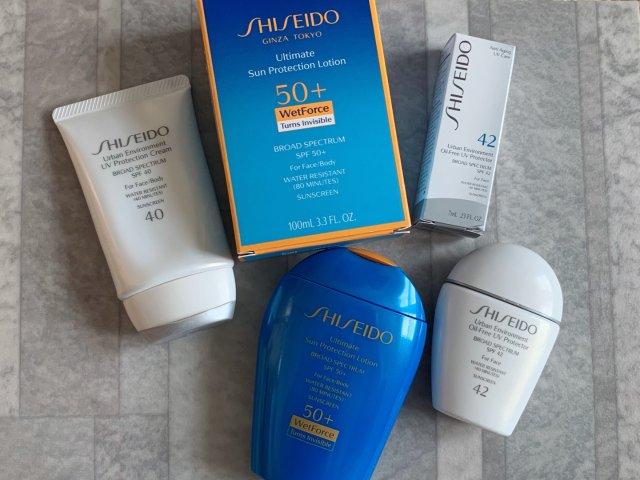 Shiseido资生堂防晒用品🧴