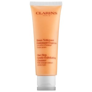One-Step Gentle Exfoliating Cleanser with Orange Extract - Clarins | Sephora
