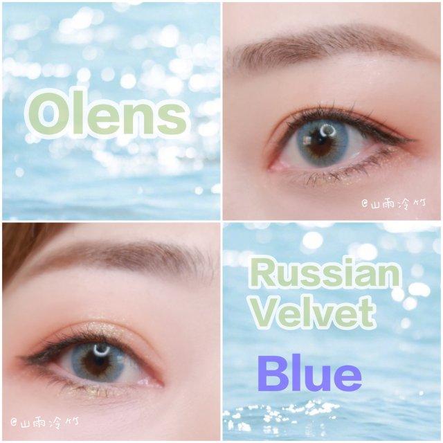 美瞳|Olens Russian蓝...